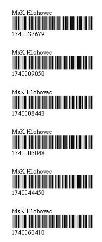Etikety pre čiarové kódy
